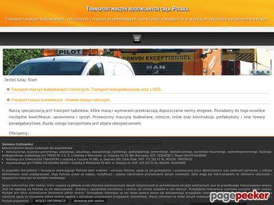 Transport maszyn rolniczych