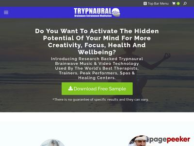 Trypnaural Meditation – Premier CB Meditation Program www