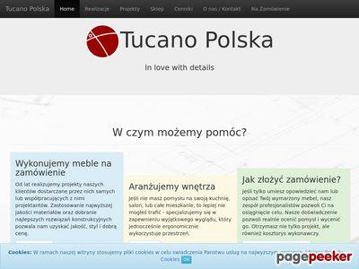 Meble na wymiar Kraków - Tucano Polska