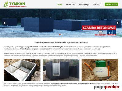 Szamba Trójmiasto Gdańsk Gdynia Toruń - zbiorniki betonowe