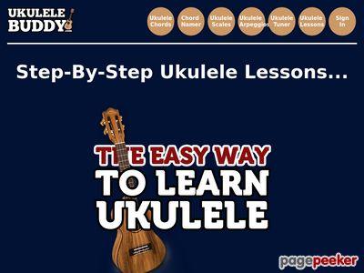 Ukulele Lessons - How to Play the Uke! 1