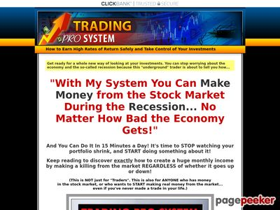 Trading Pro System  Trading Pro System