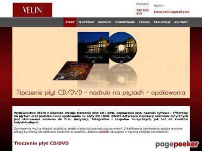 Tłoczenie płyt CD i DVD