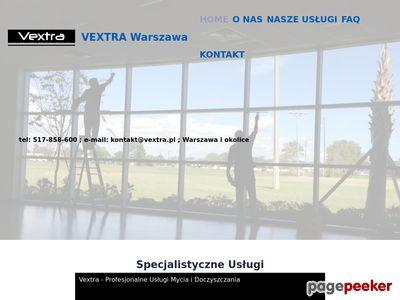 VEXTRA Warszawa - Mycie Okien