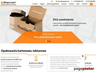 Waps-kart.pl-opakowania tekturowe Żyglin