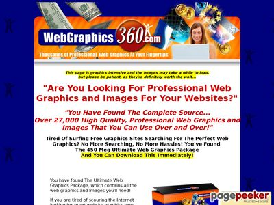 The Ultimate Web Graphics Package From Web Graphics 360.com www