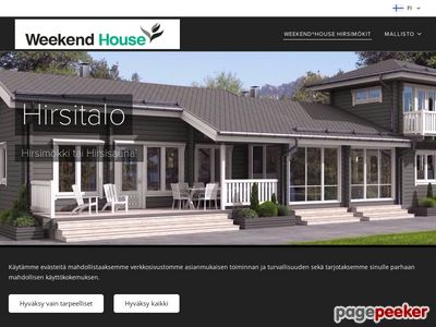 Weekend House - http://www.weekendhouse.com