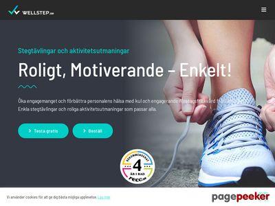 Wellstep.se - Stegt�vlingar och aktivitetst�vlingar - http://www.wellstep.se