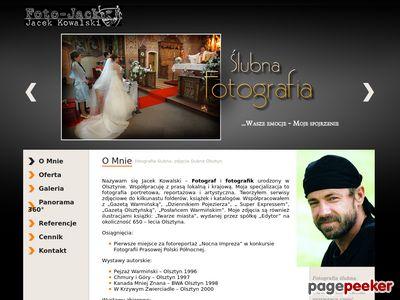 Fotografie ślubne z Olsztyna