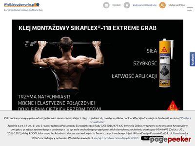 Firmy budowlane - usługi budowlane materiały budowlane Poznań, Warszawa,