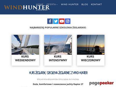 Profesjonalny kurs żeglarski z Wind Hunter
