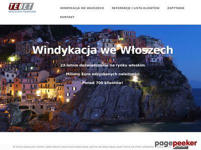 Windykacja we Włoszech