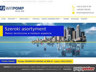 Pompy wodne Zbiorniki Zestawy Hydroforowe - WIRPOMP