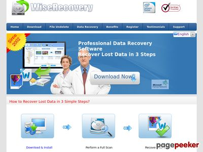 Best Data  Recovery Software – Since 2002 – WiseRecovery™ www