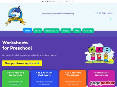 Worksheets for Preschool | Preschool Worksheets 1