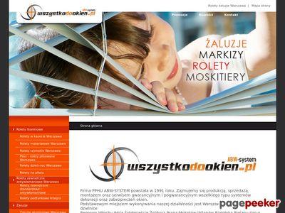 Rolety zewnętrzne Warszawa