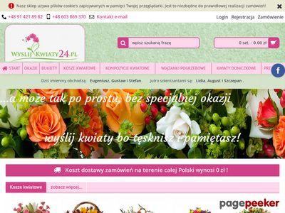 Bukiety ślubne Szczecin
