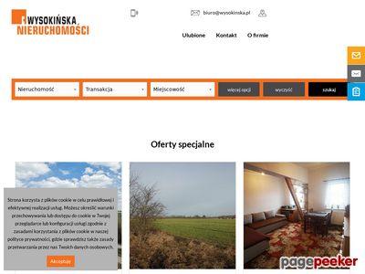 Wysokińska Nieruchomości Szczecin