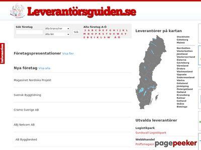 Leverantörsguiden.se - http://www.xn--leverantrsguiden-twb.se