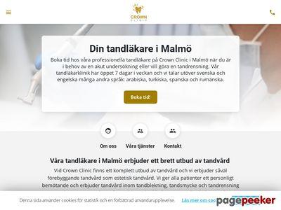 Tandläkare i Malmö med centralt läge - http://www.xn--tandlkaremalm-ffb2z.nu