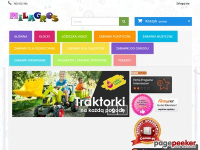 Najlepsze Zabawki w sieci: lalki,wózki,łóżeczka,traktorki, zabawki do ogrodu