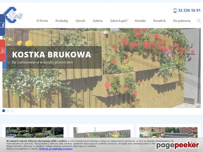 Obrzeża chodnikowe Śląsk www.zpb.com.pl