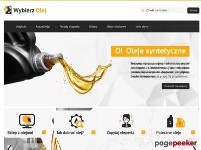 Wybierz-Olej.pl – jak wybrać olej do samochodu