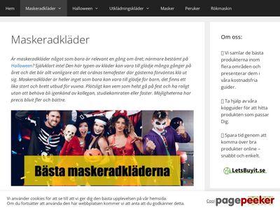 Allamaskeraddräkter.se - http://xn--allamaskeraddrkter-ytb.se