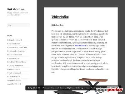 Köksbord.se - http://xn--kksbord-90a.se