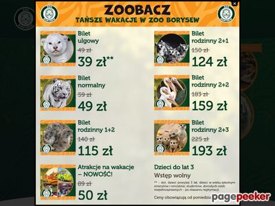 ZOO SAFARI BORYSEW mini zoo łódzkie
