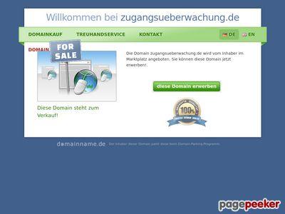 Zugangsueberwachung.de