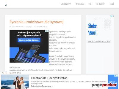 Zyczeniomania.pl - Blog z życzeniami
