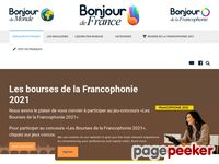 bonjourdefrance.com screenshot