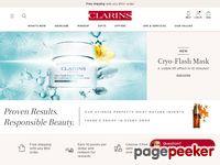 clarinsusa.com screenshot