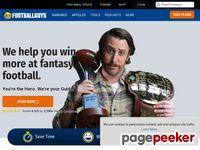 footballguys.com screenshot