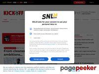kickoff.com screenshot