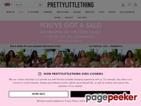 prettylittlething.com screenshot