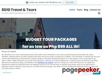 8D1D Travel & Tours – Fun-tastic weekend #budgettour in the Philippines!