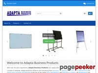 Adapta.com.au - Interactive Whiteboards, Electronic WhiteBoards, Multi-Touch TV Screens, Porcelain and Glass Whiteboards, Projection Screens, Custom Whiteboards | Adapta Business Products