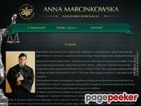 Kancelaria adwokacka Anna Marcinkowska
