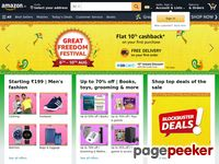 Amazon.in - Online Shopping: Shop Online for Mobiles, Books, Watches, Shoes and More - Amazon.in