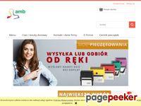 Pieczątki i Wizytówki w sklepie internetowym AMB.