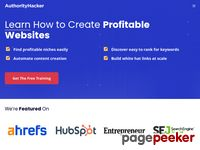 Authorityhacker.com - Authority Hacker - Learn How To Build Highly Profitable Web Properties