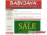 Babyjaya.com - Babyjaya - A One-Stop Baby Shop For Your Baby