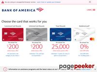 Bankofamerica.com - Bank of America - Banking, Credit Cards, Home Loans and Auto Loans