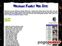 Billwilliams.org - Williams Family Web Site