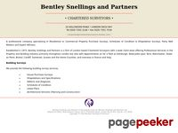 Charteredsurveyorslondon.com - Bentley Snellings and Partners - Chartered Surveys