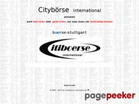 Cityboerse.de - Cityboerse international Börse Broker News Kurse Cityboerse City  AROPA