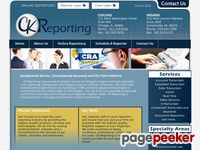 Ckreporting.com - Chicago Court Reporting  - CK Reporting