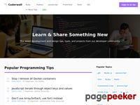 Coderwall.com - A community of great programmers and their programming tips